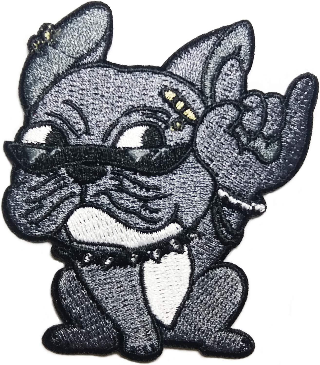 Iron On Badge Diy Fabric Applique Craft Embroidered Patches Cute Dogs Sew On