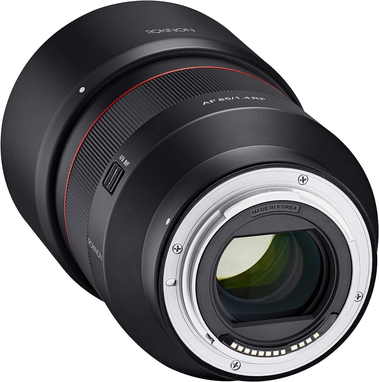 Rokinon Af 85 Mm F1 4 Wetterversiegelte High Speed Kamera