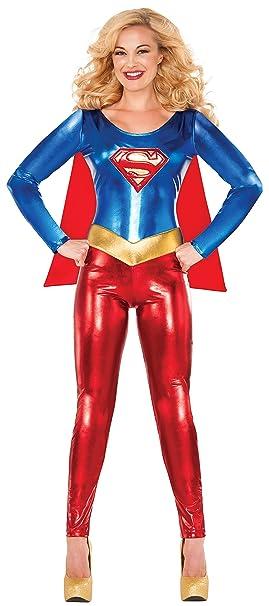 Rubies Costume Delicious of NY Womenu0027s DC Comics Superhero Style Supergirl Costume Multi X  sc 1 st  Amazon.ca & Rubies Costume Delicious of NY Womenu0027s DC Comics Superhero Style ...