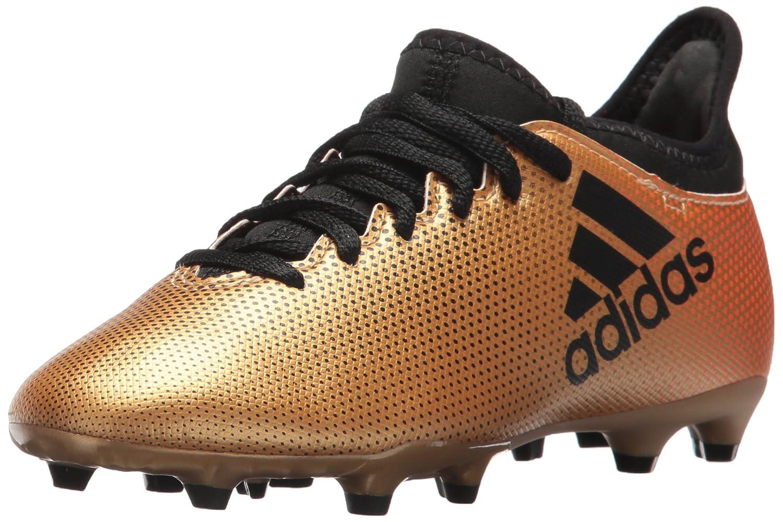 adidas Boys' X 17.3 FG J Soccer Shoe, Black/Solar Red/Solar Orange, 12 Medium US Little Kid B07234FXK7 6 M US Big Kid|Tactile Gold/Core Black/Solar Red