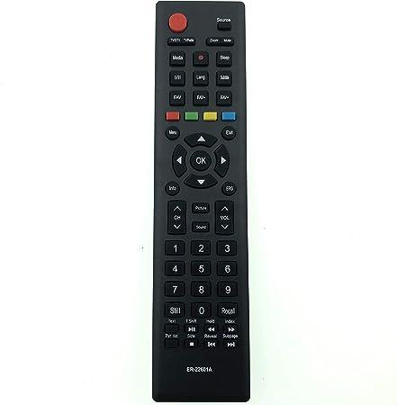 Schwarz Universal TV Fernbedienung Ersatz für Hisense RC3394402//01 3139 238