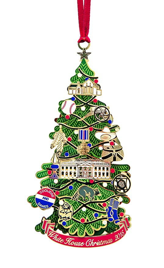 White House Christmas Ornament.2015 White House Christmas Ornament