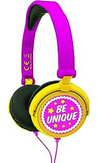 Soy Luna - Auriculares Estéreo, Diadema Ajustable Y Plegable (Lexibook HP015SL)