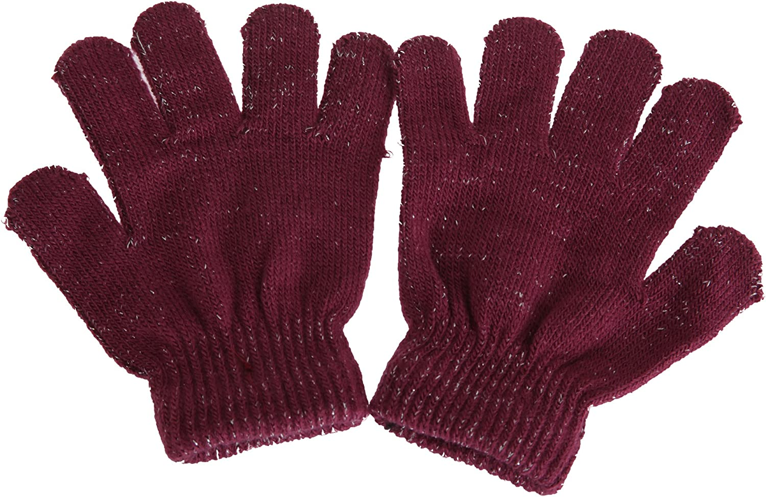 Childrens//Kids Sparkle Winter Gloves