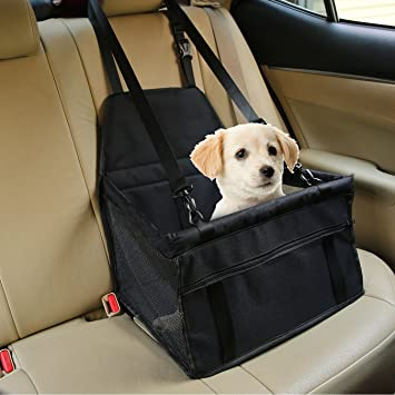 Pet Booster Seat >> Pet Car Booster Seat Breathable Waterproof Pet Dog Car Supplies Travel Pet Car Carrier Bag Seat Protector Cover With Safety Leash For Small Dogs Cats
