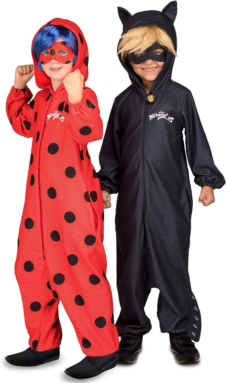 Generique - Disfraz Pareja Ladybug y Chat Noir Miraculousniños ...