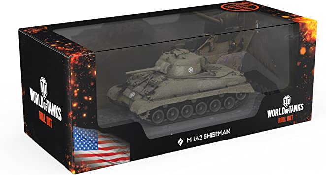 Oficial World of Tanks Miniature del Tanque M4A2 Sherman ...