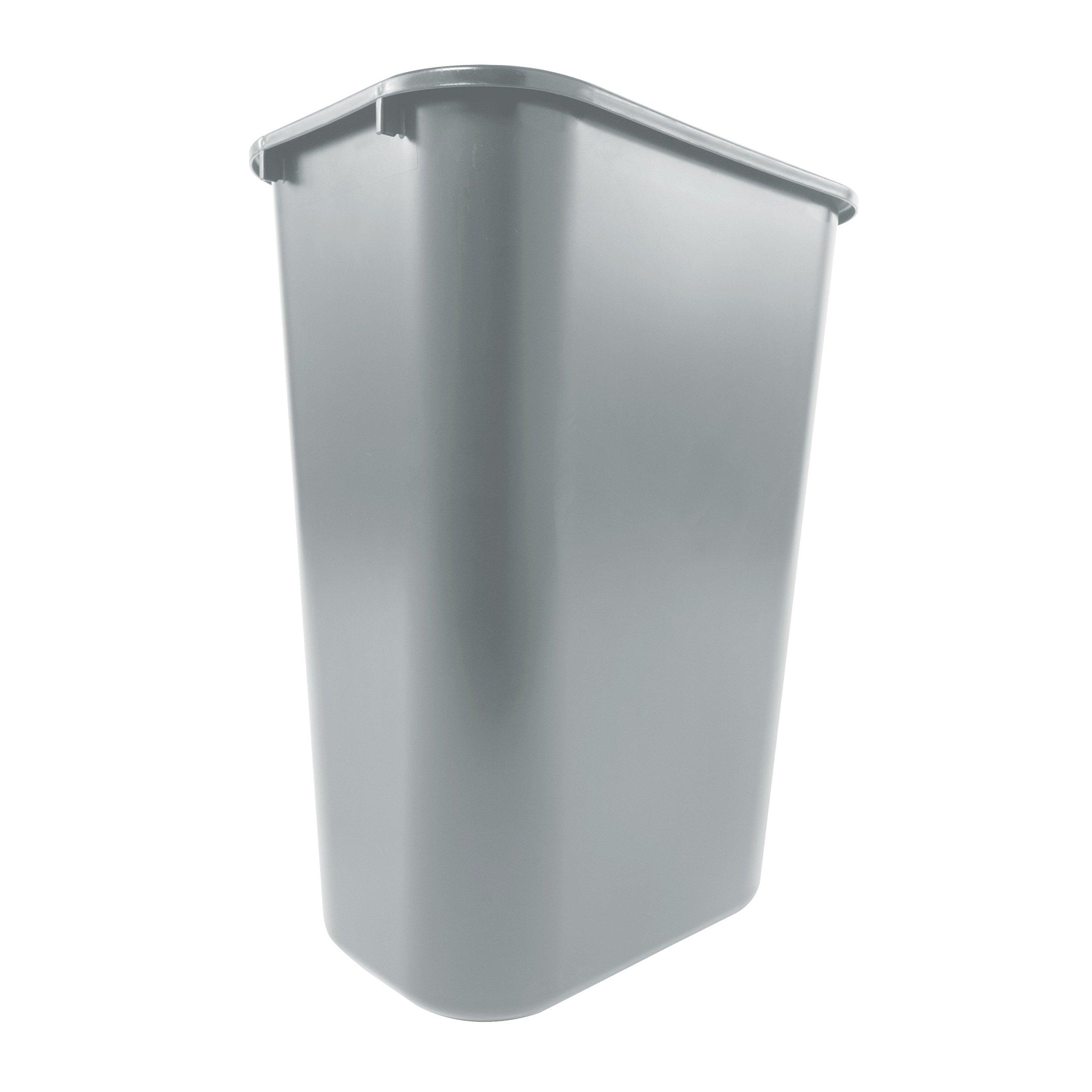 other kitchen dining bar rubbermaid commercial deskside trash can 10 gallon gray. Black Bedroom Furniture Sets. Home Design Ideas