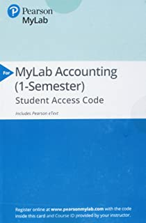 New mylab accounting with pearson etext access card for mylab accounting with pearson etext access card for financial accounting fandeluxe Choice Image