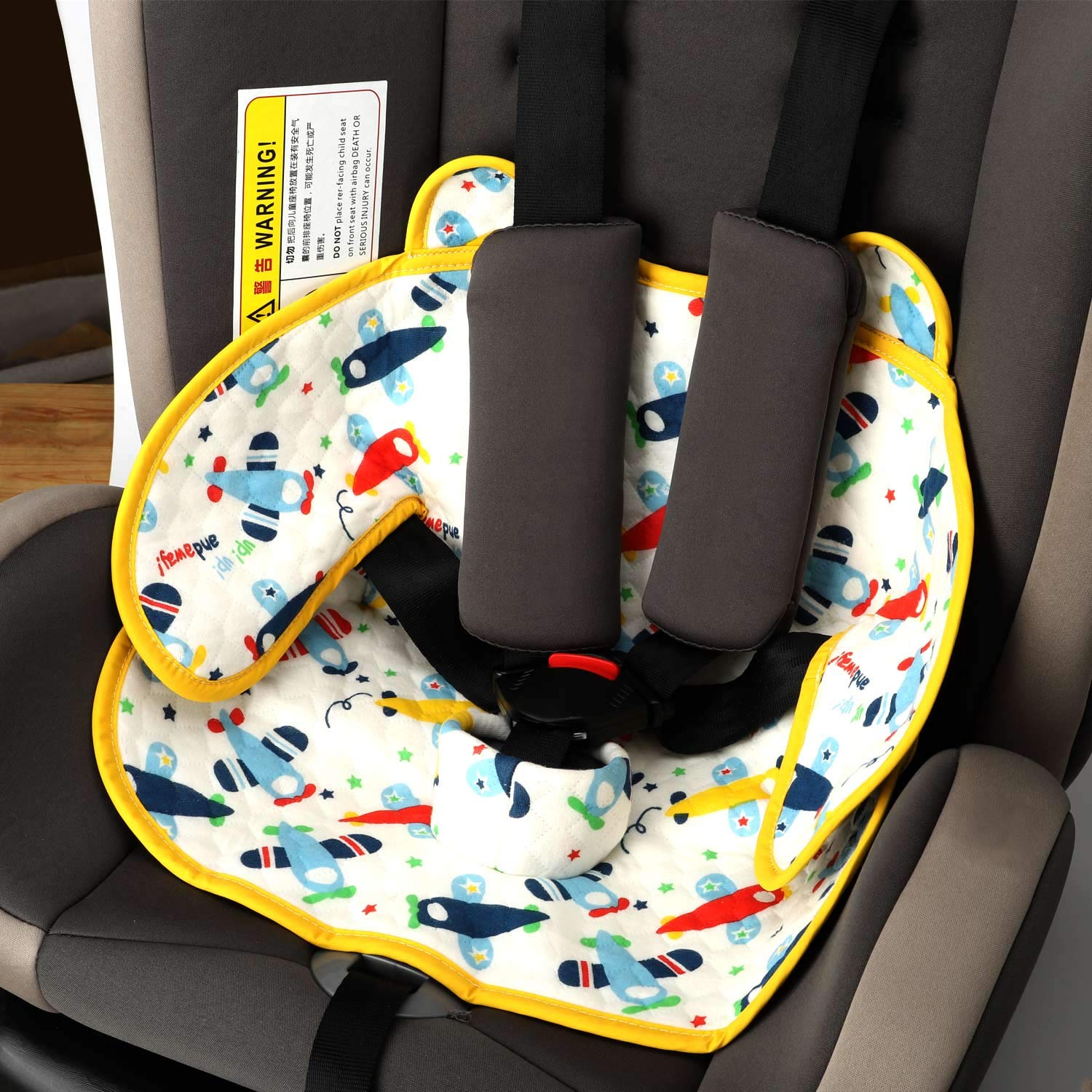 Epltion Piddle Pad Car Seat Protector,Potty Training Seat Saver Pads for Infants Baby and Toddlers,2019 Updated Leak Free Car Seat Liner for Baby Stroller and Bouncers 1 Pack