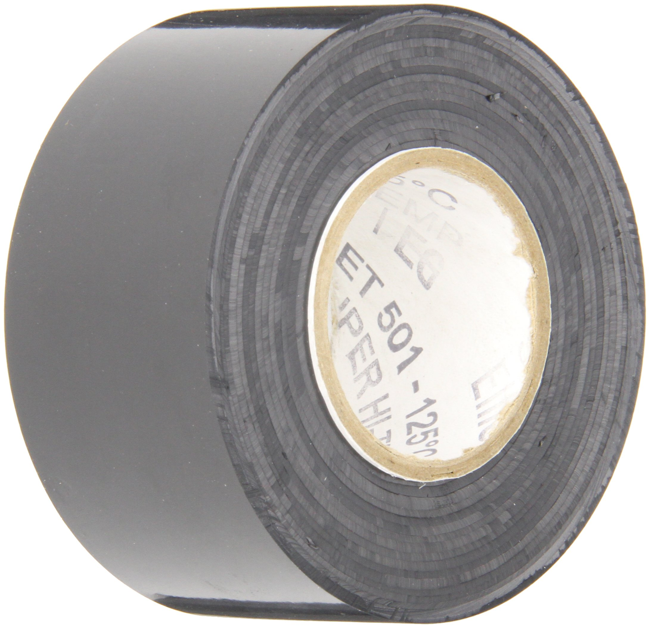 TapeCase TC790 Dry Vinyl Tape - 1.5 in. x 100 ft. Black Chrome Plating Tape Roll with High Conformability. Adhesive Tapes