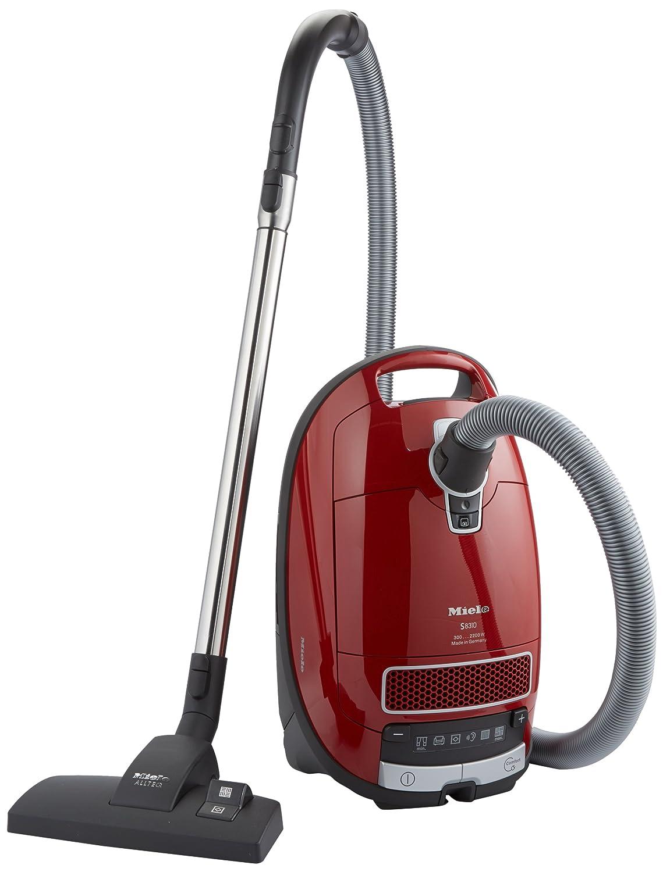 Miele S 8310 - Aspiradora (2200W, 230-240V, 50 Hz, Cilindro, Bolsa para el polvo, Acero inoxidable) Rojo