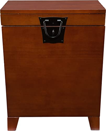 SEI Furniture Pyramid Storage Trunk