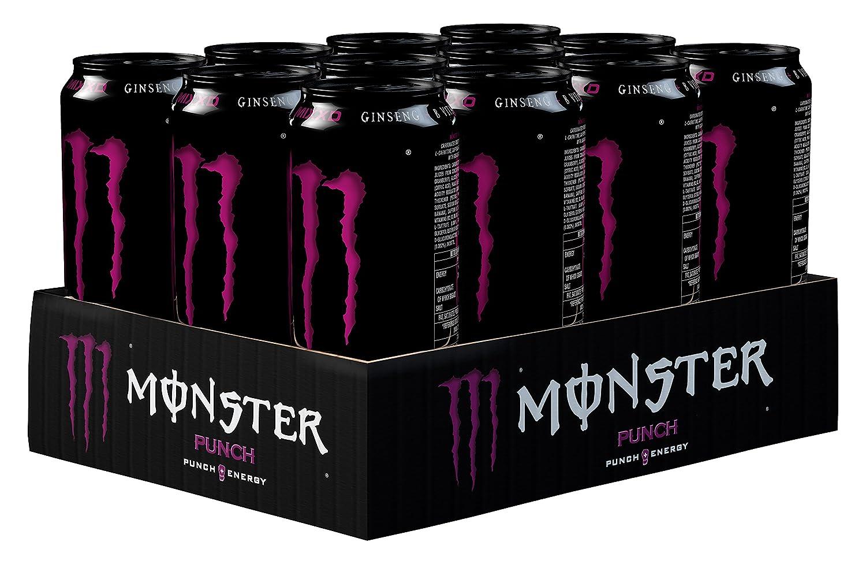 Monster Punch Energy Drink, 12 x 500 ml: Amazon.co.uk: Prime Pantry