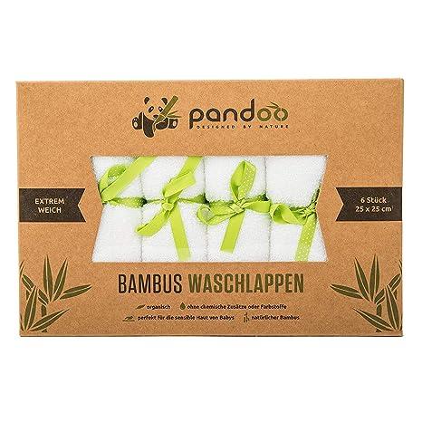 pandoo wash pañales 100% de bambú para bebés - peluche suave,