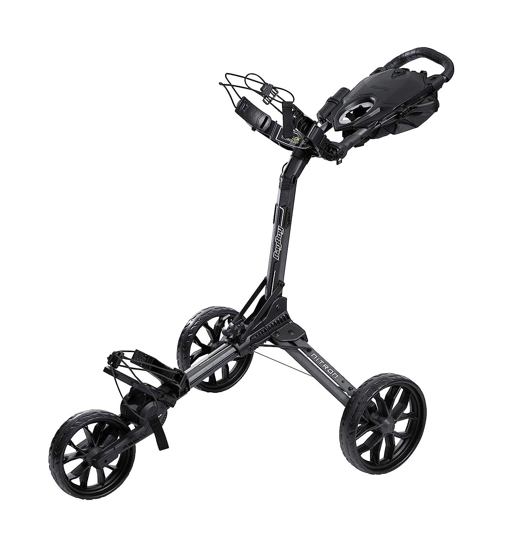Bag Boy Nitron Golf Trolley, Color- White/Black: Amazon.co.uk ...