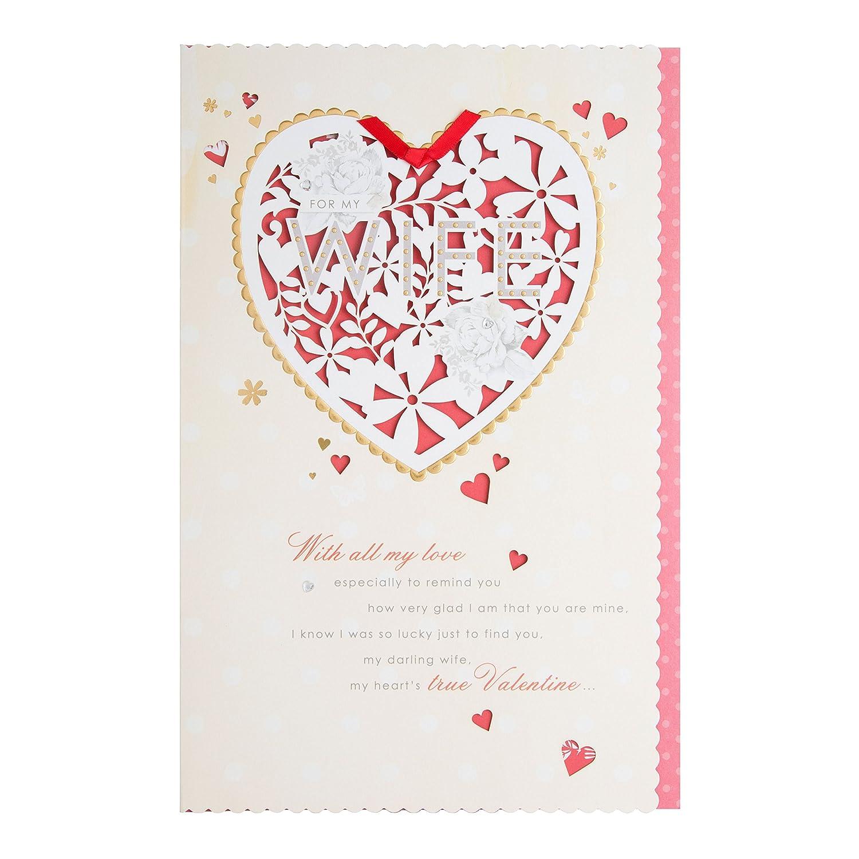 Hallmark Wife Valentines Day Card All My Love Large Amazon