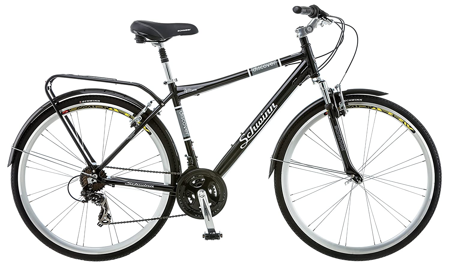 image of black, men's, schwinn discover