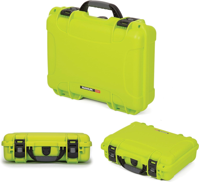 Nanuk 910 Waterproof Hard Case with Foam Insert Orange