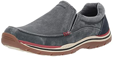 649fd9d5 Image Unavailable. Image not available for. Color: Skechers USA Men's Expected  Avillo Relaxed-Fit ...