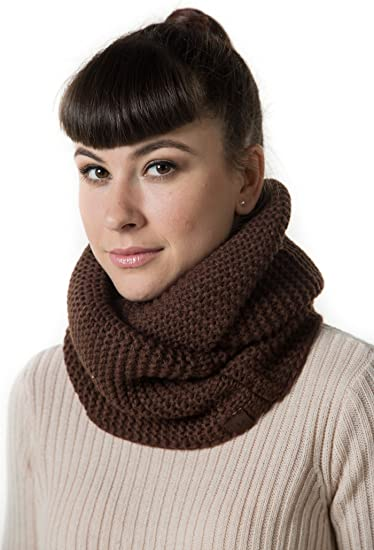 New Women/'s Men/'s Winter Warm Infinity Knit Circle Cable Scarf Scarves Wrap