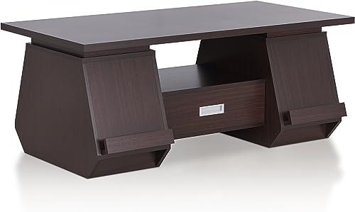 Furniture of America Tudora Contemporary Wood Coffee Table