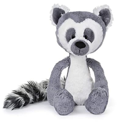 "GUND Toothpick Casey Lemur Plush Stuffed Animal, Black and White, 15"": Toys & Games"