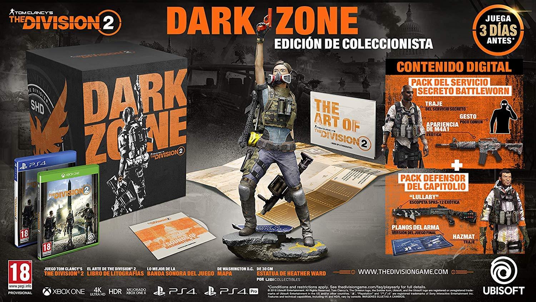 The Division 2 Dark Zone Collectors Edition: xbox one: Amazon.es: Videojuegos