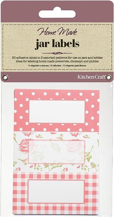 Kitchen Craft 30 Blaue Etiketten zum Beschriften