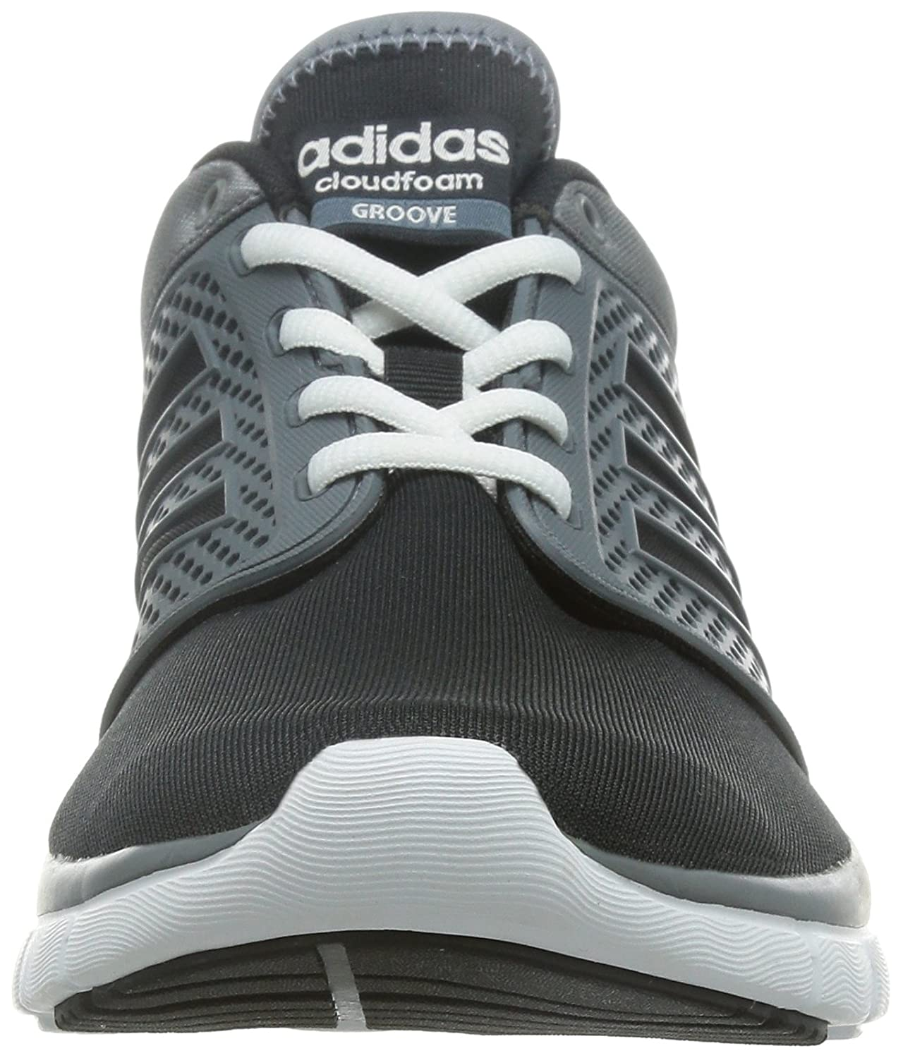 adidas Neo Cloudfoam Groove Mens Running Sneakers/Shoes Road ...