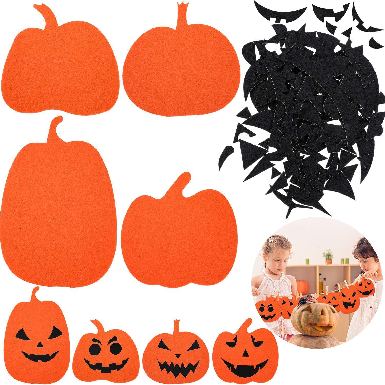 Amazon 182 Pieces Halloween Pumpkin Decorating Craft
