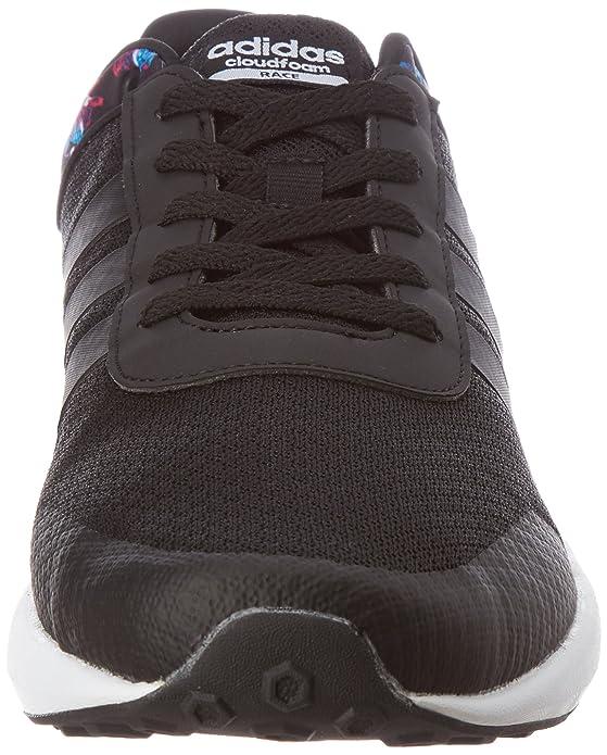size 40 a589e 902df adidas Damen Cloudfoam Race W Sneaker Low Hals, Schwarz  (NegbasNegbasFtwbla), 36 23 EU Amazon.de Schuhe  Handtaschen