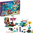 LEGO Friends Dolphins Rescue Mission 41378 Building Kit with Toy Submarine and Sea Creatures, Fun Sea Life Playset with Kacey