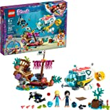 LEGO Friends Dolphins Rescue Mission 41378 Building Kit with Toy Submarine and Sea Creatures, Fun Sea Life Playset with…