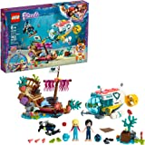 Lego Friends Dolphins Rescue Mission 41378 Building Kit with Toy Submarine and Sea Creatures, Fun Sea Life Playset with Kacey and Stephanie Minifigures Group Play, New 2019 (363 Pieces),Standard