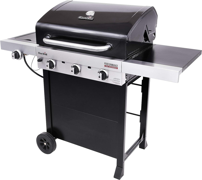 Propane Grills Patio, Lawn & Garden Black Char-Broil 463280019 3 ...