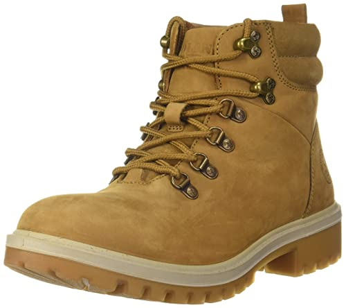 Woodland Men's Camel Leather Boots-7 UK