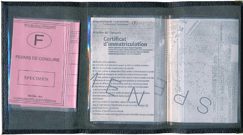 porta documenti patente identita/'  nera document holder  porte