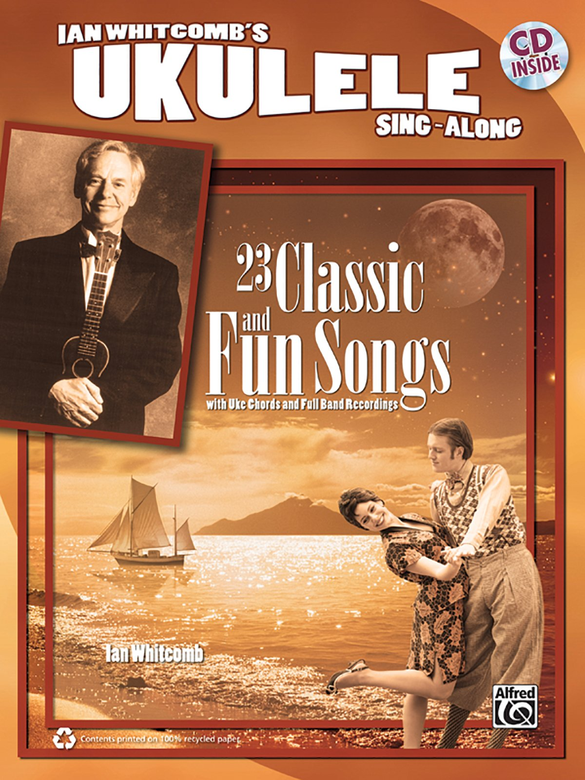 Ian Whitcomb's Ukulele Sing-Along: Book & CD