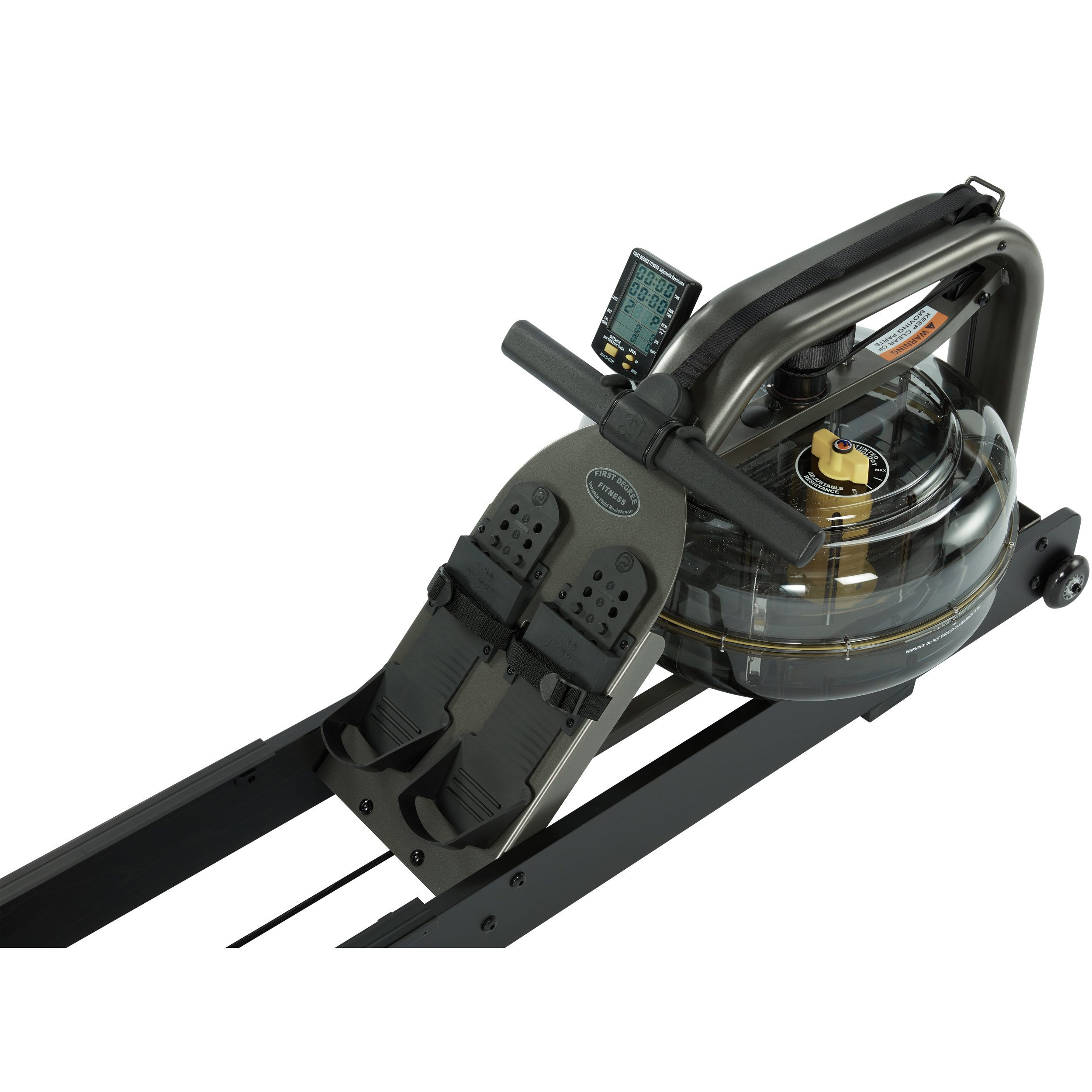 First Degree Fitness Indoor Water Rower with Adjustable Resistance - Apollo Pro II Black Reserve by First Degree (Image #6)