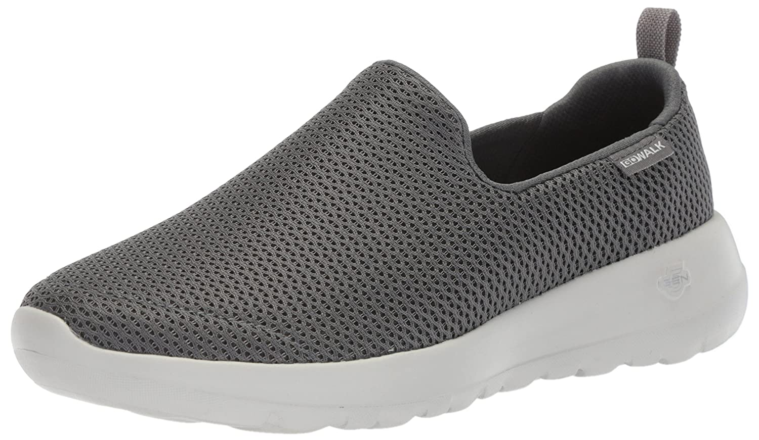 Skechers Damen Go Walk Joy-Gratify Slip on Sneaker, Schwarz (Black), 38.5 EU