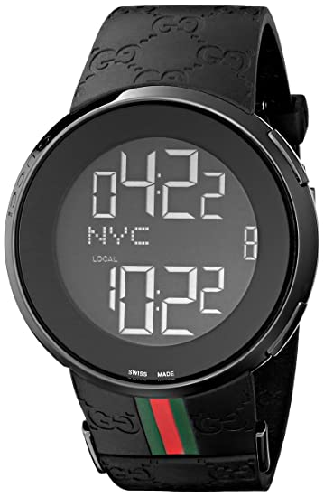 c4f0289c8f6 Gucci Men s I-Gucci Watch Black YA114207  Gucci  Amazon.ca  Watches