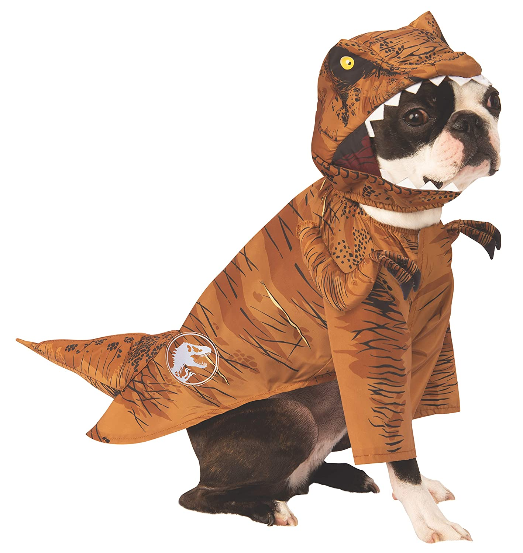 Rubies - Disfraz de Dinosaurio para Perro, diseño de tiranosaurio ...