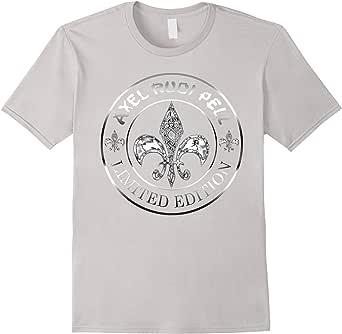 Axel Rudi Pell Fleur Logo Chrome T-Shirt
