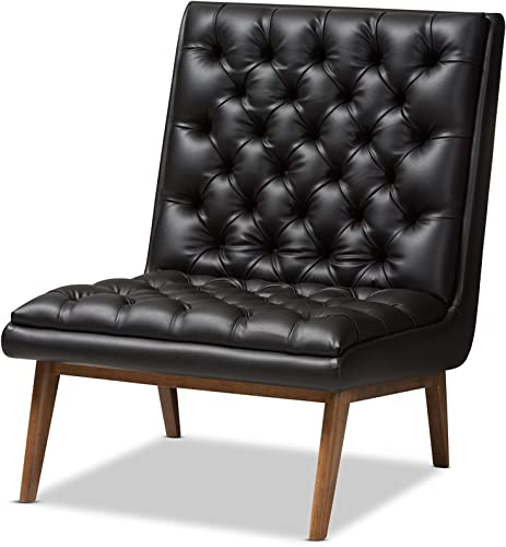 Baxton Studio Anabelle Chair, Black