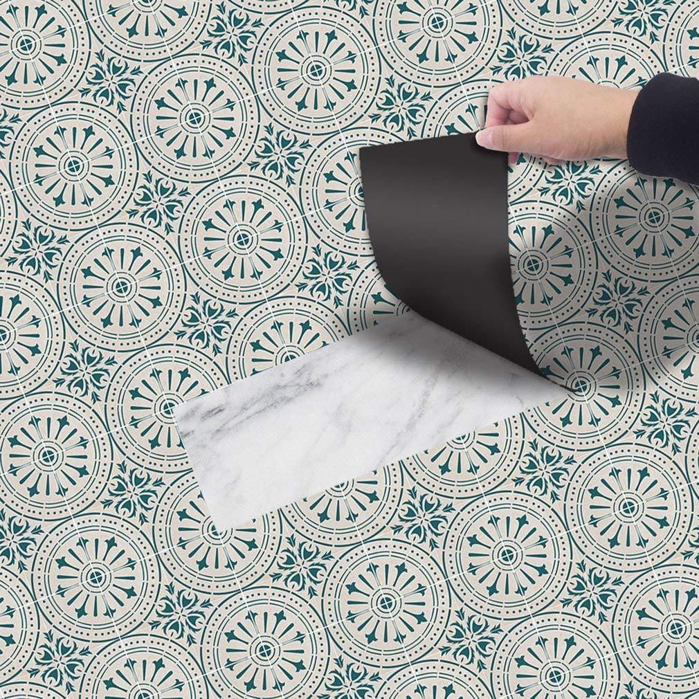 Self Adhesive Sticker Background Wallpaper Floor Sticker