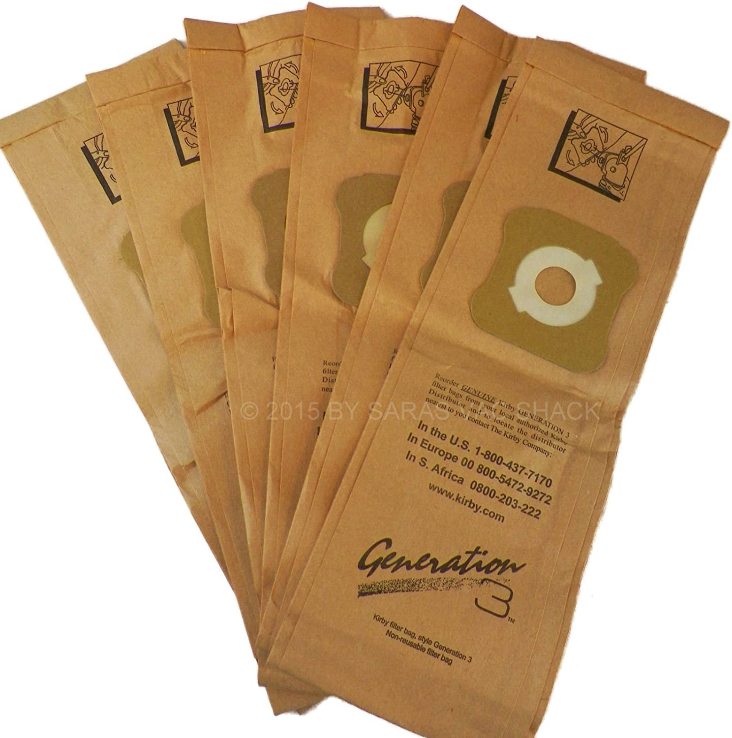 10 X Vacuum Cleaner Bags For Kirby G3-4-5-6-7 Heritage Legend II