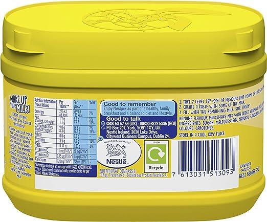 Nesquik Banana en Polvo para Bebida - Paquete de 10 x 300 gr ...