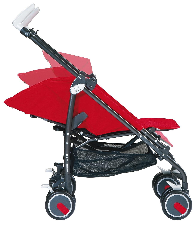 Mod Red Peg Perego Pliko Mini Stroller
