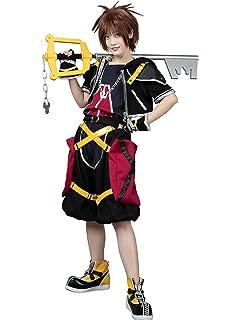 Sora Nightmare Before Christmas Costume.Amazon Com Kingdom Hearts Cosplay Costume Sora 1st Original